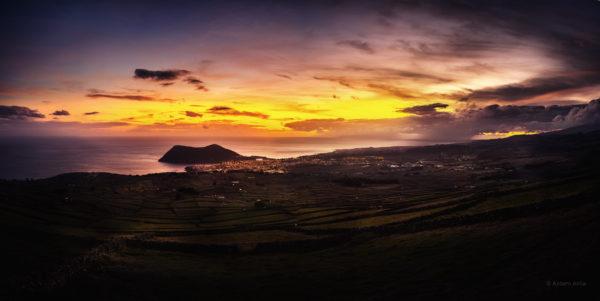 Pôr-do-Sol na Ribeirinha – Terceira